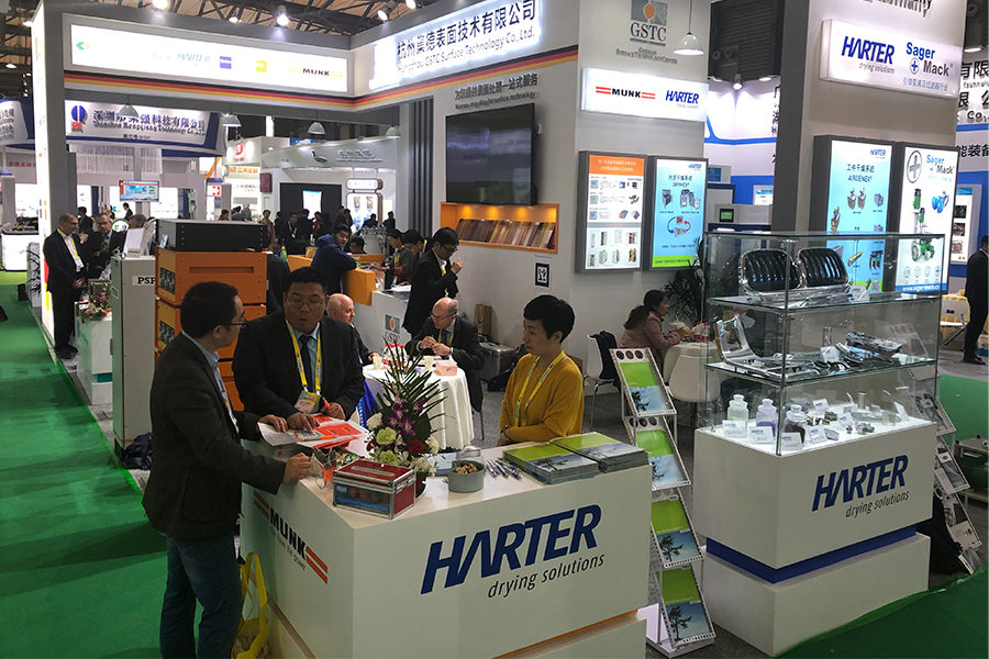 Successful Presence at the Shanghai Surface Finishing Exhibition