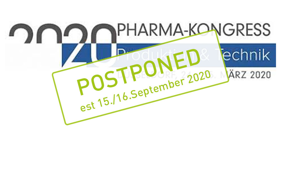 Pharma-Kongress in Düsseldorf postponed