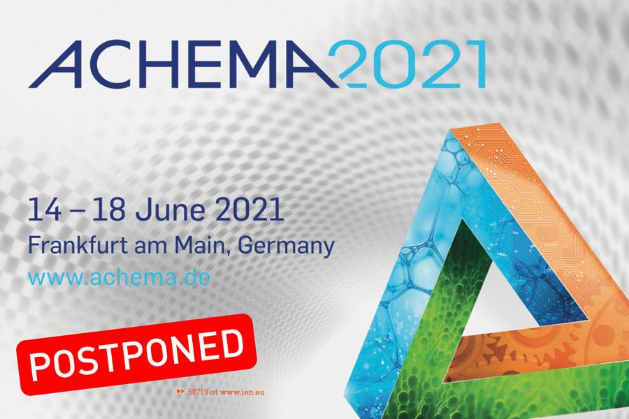 ACHEMA 2021 postponed