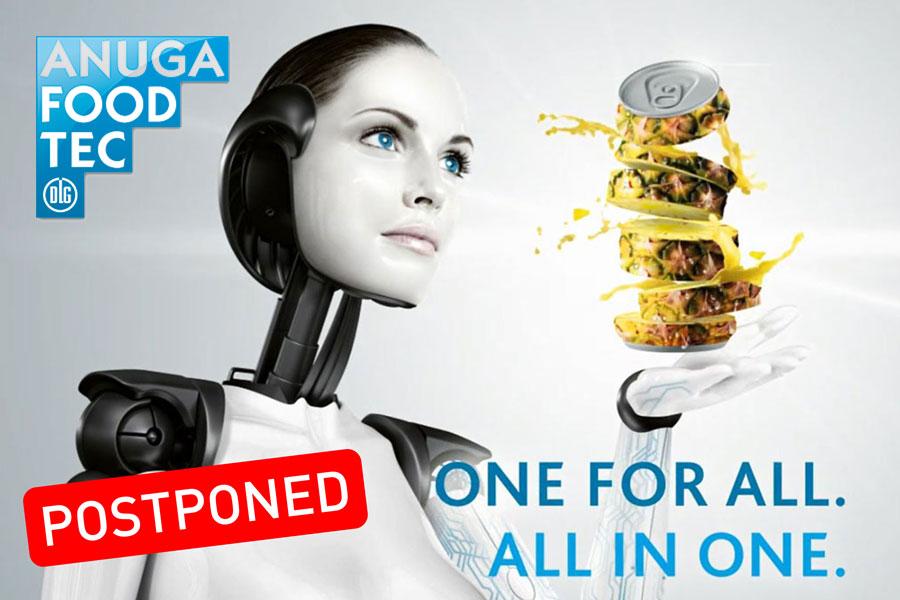 ANUGA Foodtech 2021 postponed