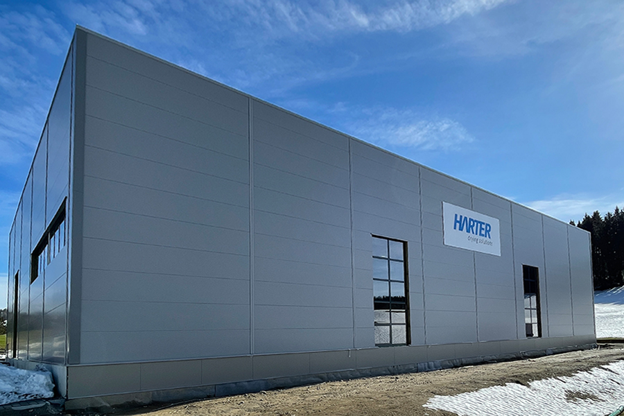 New hall creates additional capacity