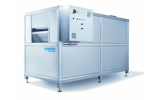 Air blowing tunnels / continuous dryers