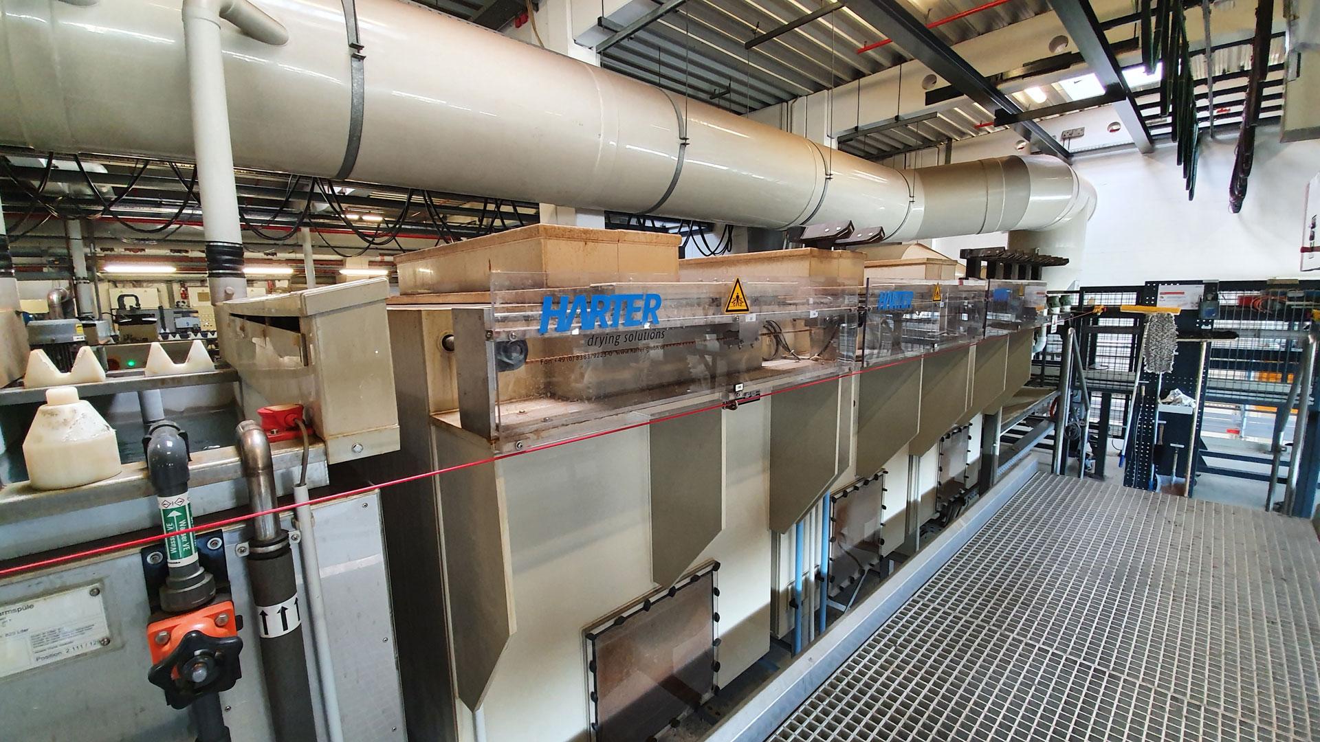 Gentle In-Line Drying of Bulk Material