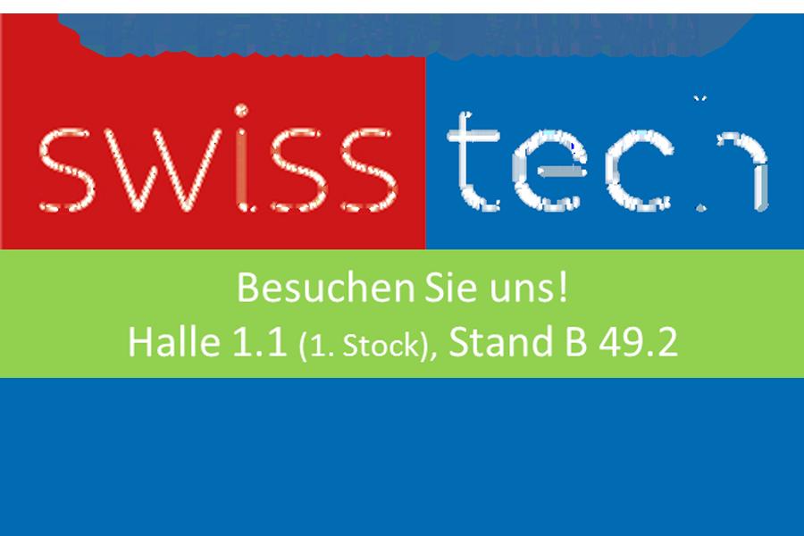 Swisstech 2019 – Wir sind dabei!