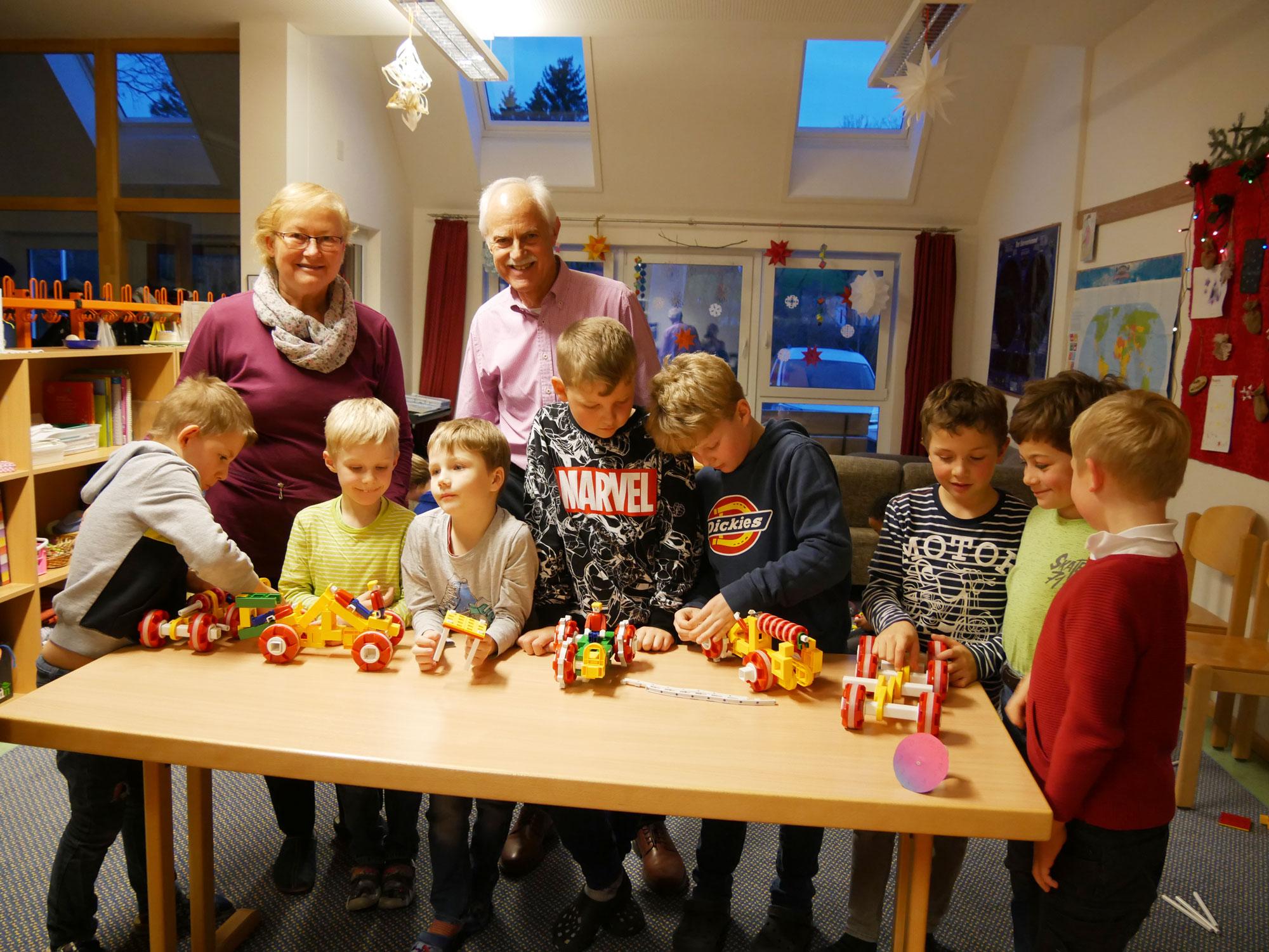 Weihnachten in der Schülerstube